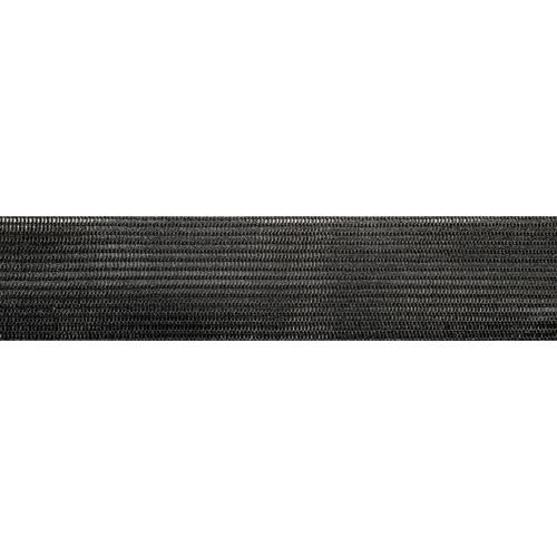 Тесьма С516 окантовочная 2,4см*100м (3,8гр/м) (Мн) (005 черный)