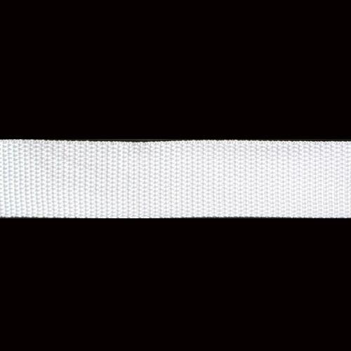 Фурнитура Лента ременная 25мм (белый) Цена указана за 10 см