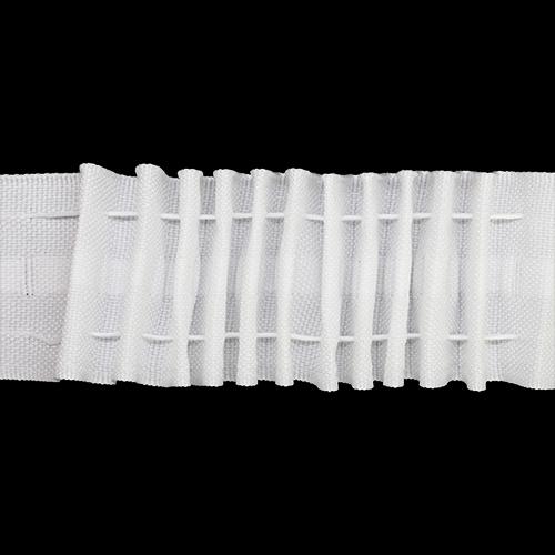 Тесьма С22 шторная 4,0см (ТУ) Цена указана за 10 см