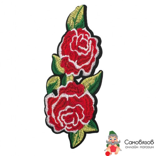 Термоаппликации 3783605 Розы 20*8см