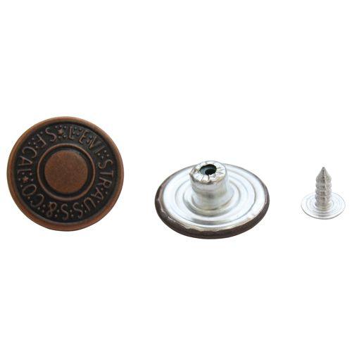 Пуговицы Пуговицы джинс. 20мм 0300-8425В медь