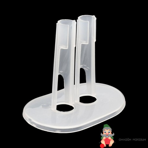 Аксессуары для кукол 28520 Подставка для кукол прозрачная 8см*5см*7см, пластик