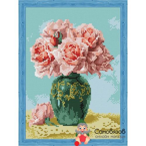 Творчество Алмазная мозаика «Восточные розы» 30x40см.