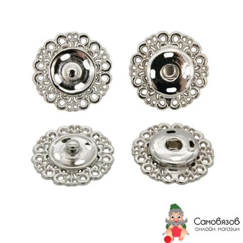 Кнопки пришивные ГЖ2722 Кнопка пришивная 23мм (никель)