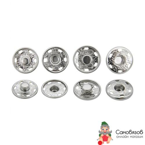Кнопки пришивные КПР1 Кнопка пришивная 19мм (никель), цена за 1 шт