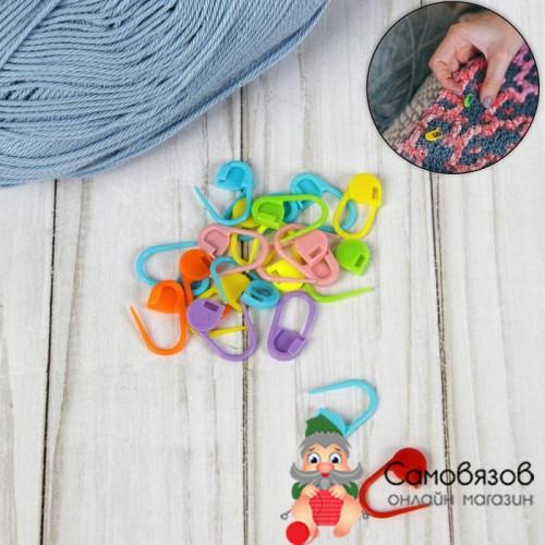 Аксессуары для вязания 1161162 Маркер для петель пластик, МИКС. Цена за 1 шт