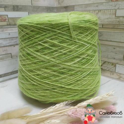 Пряжа sock printing 521 (зеленый)