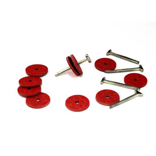, Набор креплений (5 Т-шплинтов10 дисков фибра 15 мм)