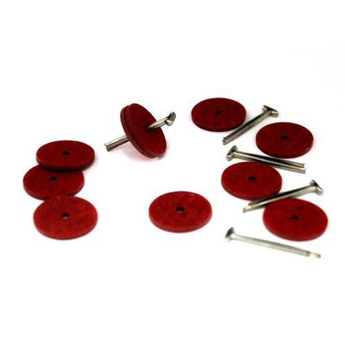, Набор креплений (5 Т-шплинтов10 дисков фибра 20 мм)