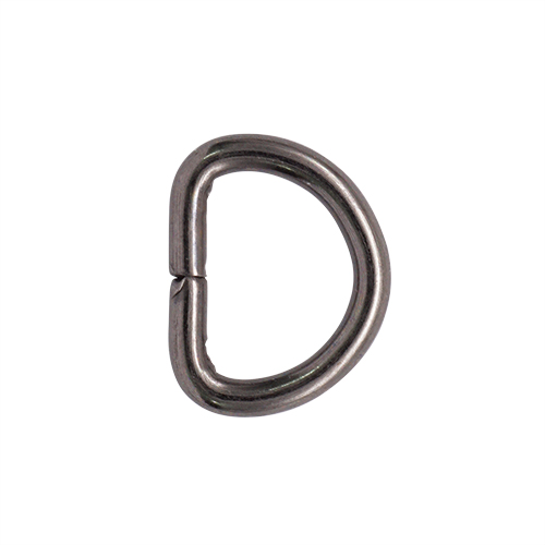 Фурнитура Полукольцо 10мм (бл.никель)