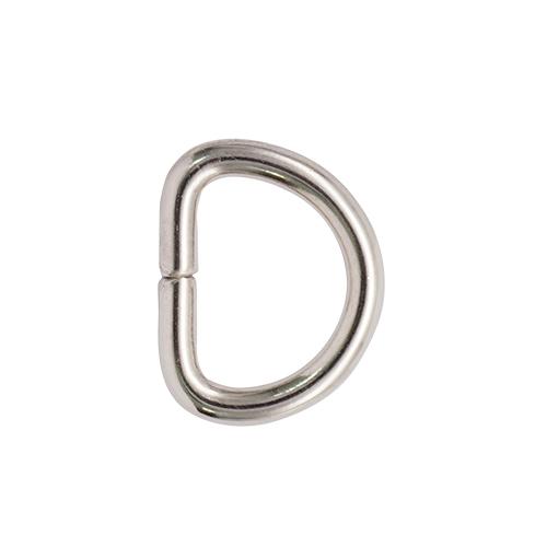 Фурнитура Полукольцо 10мм (никель)