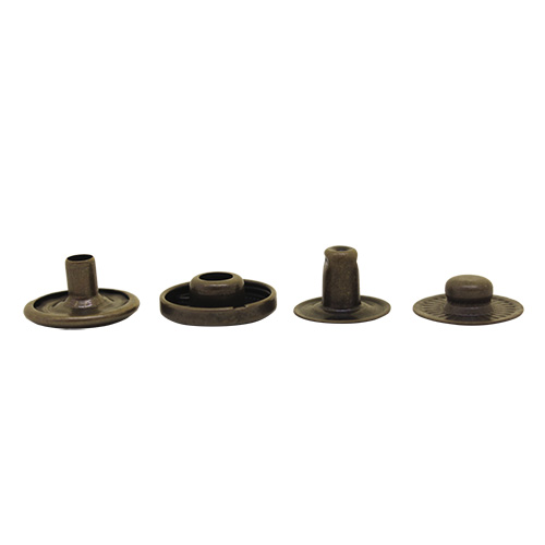 Фурнитура Кнопка Альфа 15мм сталь (антик)