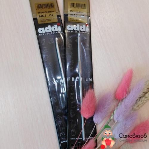 Крючки для вязания Крючок, вязальный, алюминий с покрытием, №3, 15 см