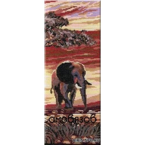 Набор для вышивания крестом Слоны HB196