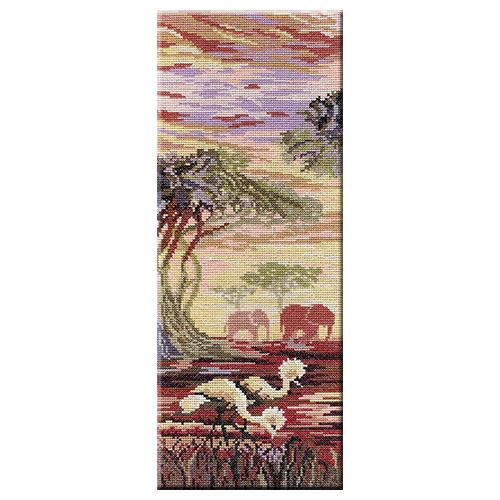 Набор для вышивания крестом Слоны HB194