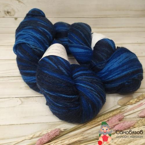 Пряжа Art Blue (синий) 190 гр