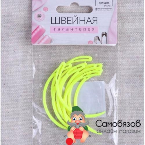Аксессуары для вязания Игла пластиковая изогнутая