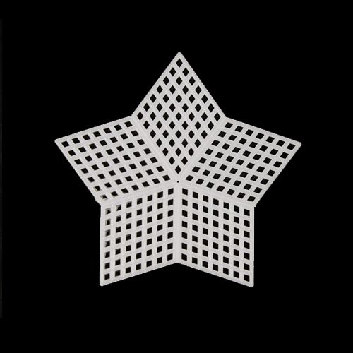 Канва Канва пластик звезда 90мм