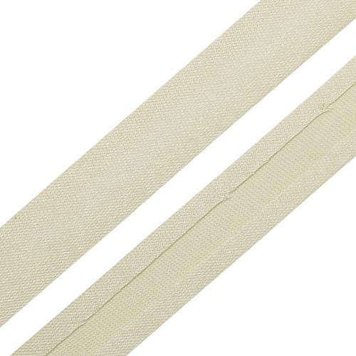 Текстильная галантерея Косая бейка 15мм (6009/2011, 005 св.крем-брюле) Цена за 10см