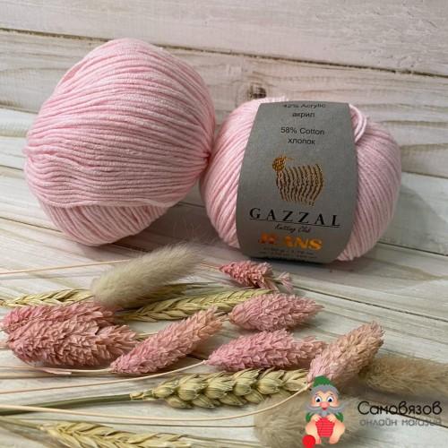 Пряжа 1116 нежно-розовый