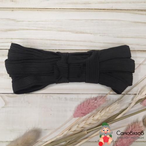 Резинка Резинка-продежка, шир 15мм, черная. Цена указана за 10см.
