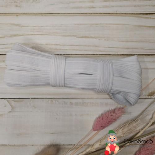 Резинка Резинка-продежка, шир 15мм, белая. Цена указана за 10см.
