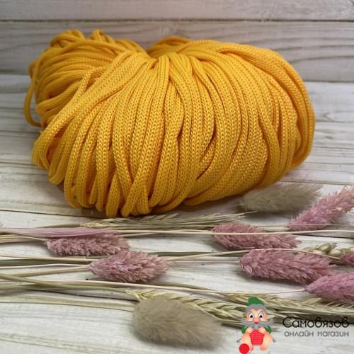 Пряжа желтый яркий