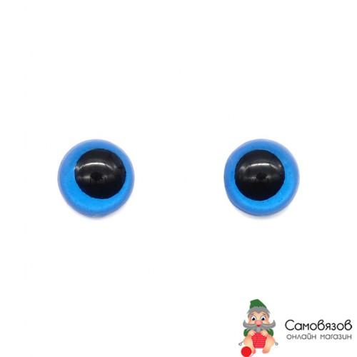 Творчество 28542 12мм (фикс. при помощи клея), цв.синий цена за 1 пару