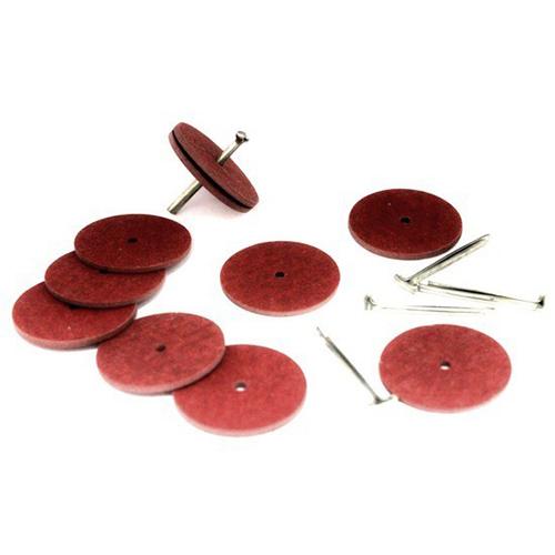 , Набор креплений (5 Т-шплинтов10 дисков фибра 25 мм)