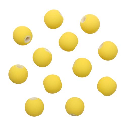 Бусины матовые, 12мм, 20гр. (015 желтый)